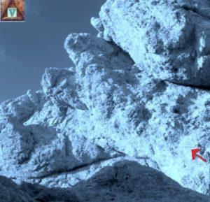 Rocce del monte Prena prima della vetta