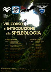 VIII Corso di Introduzione alla Speleologia