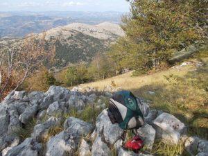 Versante nord di monte La Bannera